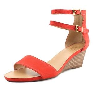 Franco Sarto Dade Wedge Ankle Strap Sandals